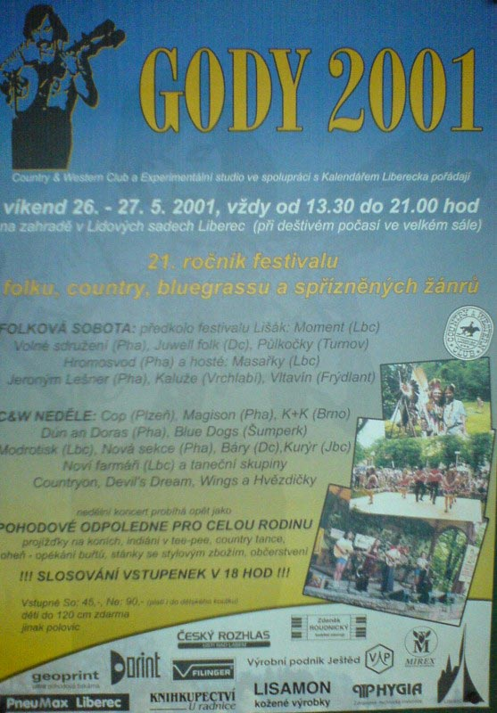 plakát Gody 2001