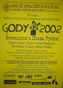 plakát Gody 2002