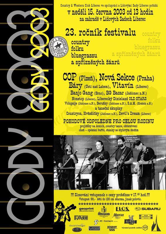 plakát Gody 2003