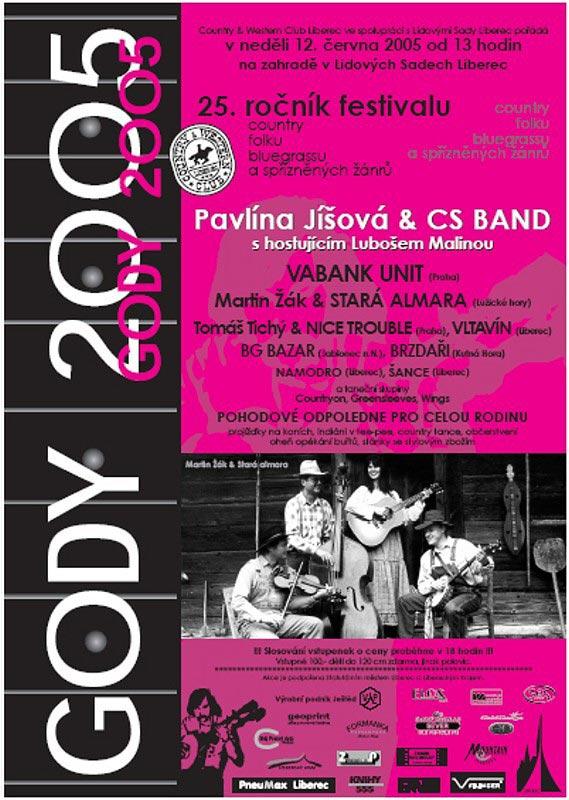 plakát Gody 2005